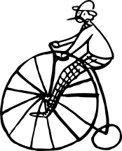 man-riding-on-a-penny-farthing-cycle-vector-clipart